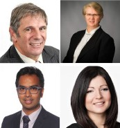 Danny Masel SC, Sharon Keeling, Romesh Kumar, Margarita Yerusalimsky