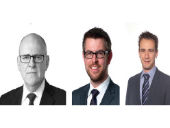 Frank O'Loughin, Andrew de Wijn, Simon Tisher