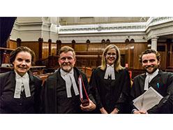 Julie Condon QC, Peter Chadwick QC, Sarah Lenthall, Michael Allen