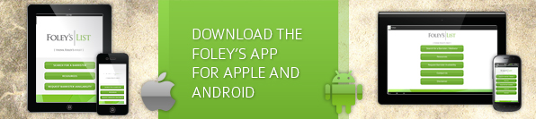 Foley's Barrister List Melbourne | Mobile App Download